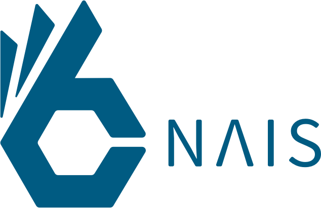 nais logo (blue, with name)